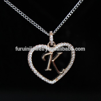 Beautiful design 925 silver letter k necklaceletter initial beautiful design 925 silver letter k necklaceletter initial necklace aloadofball Images