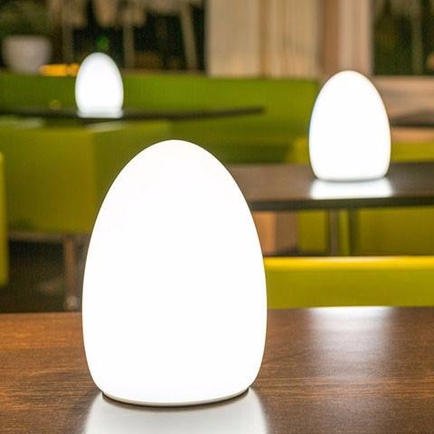 Shenzhen Egg Shaped Led Table Lamp With RGB Color Light