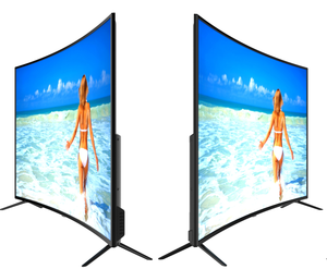 55 65 75 86 100 inch led lcd flat CURVED smart tv led TV