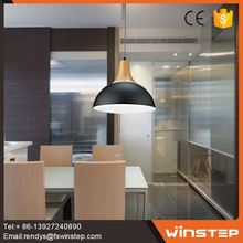 wholesale design black single chandelier lighting for office decoration