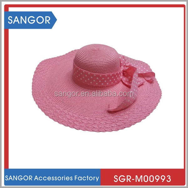 Modern classical natural straw skimmer boater straw hat