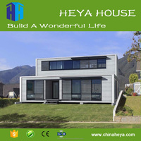Luxury prefab modern container villas for sale with CE