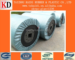 Professional China 18mpa NN rubber conveyor belting price for Cement plant and Crushed stone
