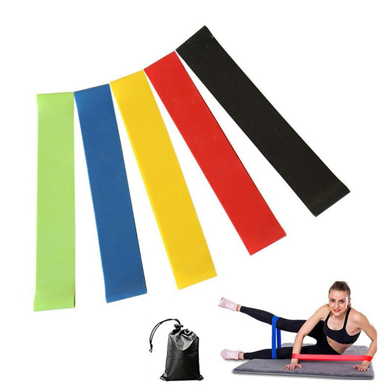 Fitness supplements custom workout gym sports loop resistance band