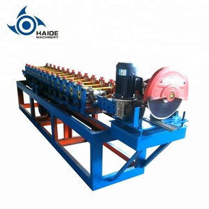 automatic galvanized roller shutter rolling door making machine cold steel roller shutter sheet door machine