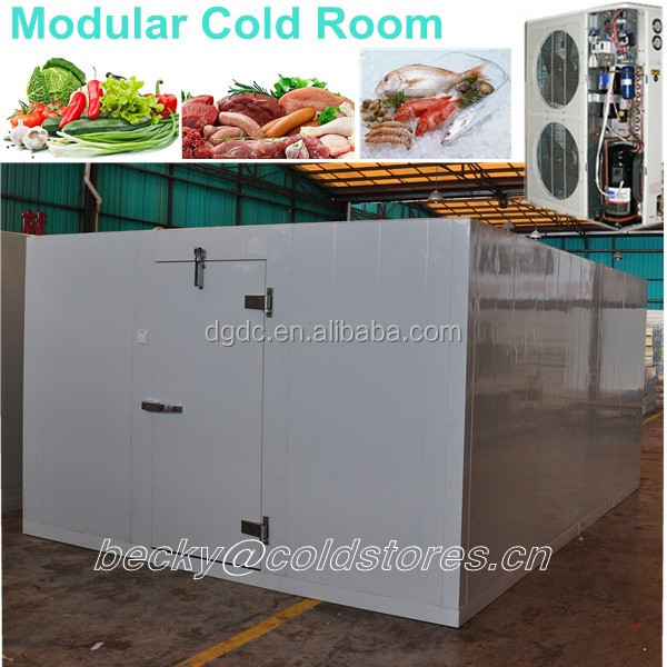 Small Cooling Room Of Prefab Cold Room To Store Fruit