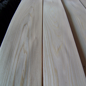 Slice veneer 0.6mm elm wood veneer Grade AB