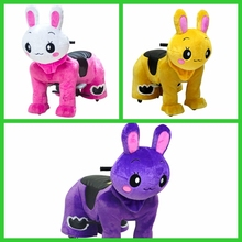 HI electric ride on animals coin operated horse zippy animal rides