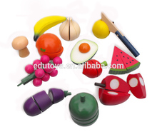 Fruit Cutting Educational Wooden Kitchen Toys