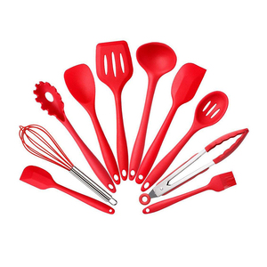 10pcs - Heat-Resistant Non-Stick Silicone Cooking Utensils