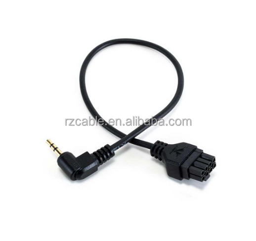 MoVI Pro LANC Serial Cable, Molex Microfit connector to 3.5mm TRS Stereo connector