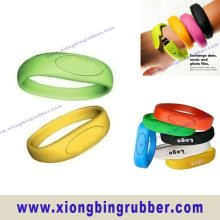 silicone USB flash drive wristband
