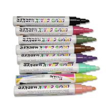 Fluorescent liquid chalk marker pens for led writing board
