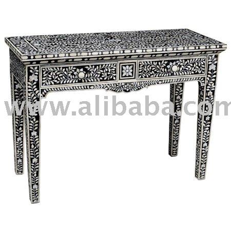 Bone Inlay Console Table,Bone Inlay Furniture   Buy Bone Inlay Console Table  Product On Alibaba.com