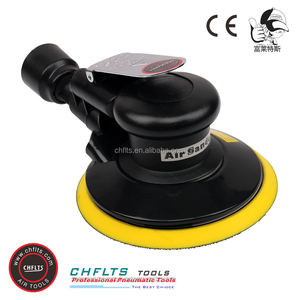 6215-D2 Manufacturer 150mm Pad Self-Generated Vacuum Pneumatic Orbital Sander, Variable Speed Removing Rust Air Tools for Car