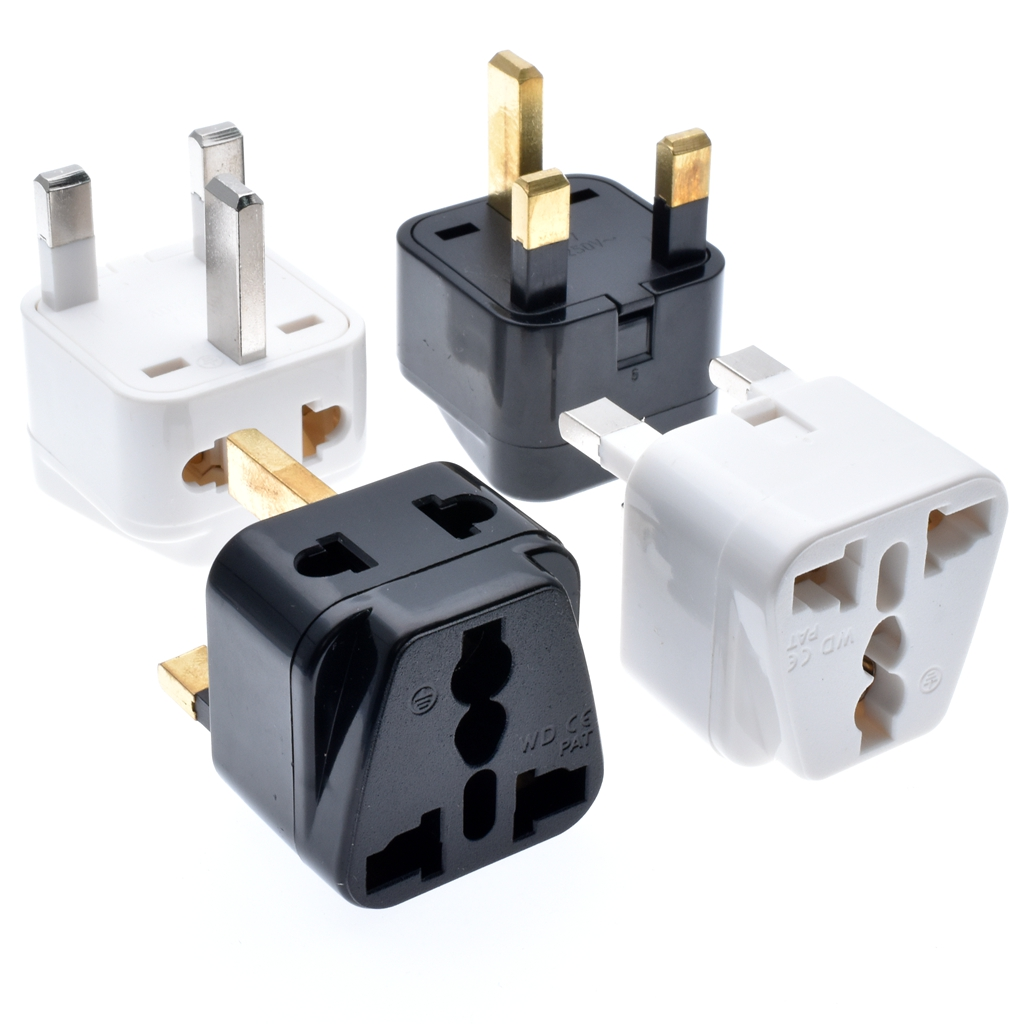 UK Universal Travel Adapter,worldwide Power plug to BS1363-A plug,<strong>BS</strong> plug to Universal Outlet <strong>Socket</strong>.