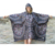 Womens Travel Portable Triple Poncho Raincoat Outdoor Rain Coat Hiking Mountaineering Cycling Versatile Poncho Waterproof
