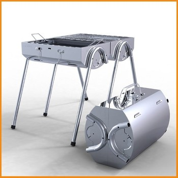 Stainless Steel Portable Outdoor Charcoal Rotisserie Bbq Pro Charcoal Grill