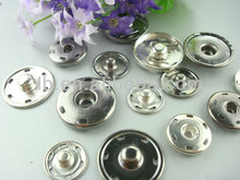 bulk big size spring snap for garment metal snap button