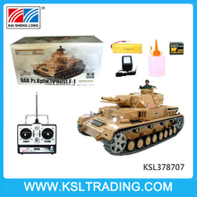 Henglong rc tank metal 1/16 with smoke and sound