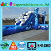 party rentals inflatable bouncer combo, EN14960 jumping castles inflatable water slide
