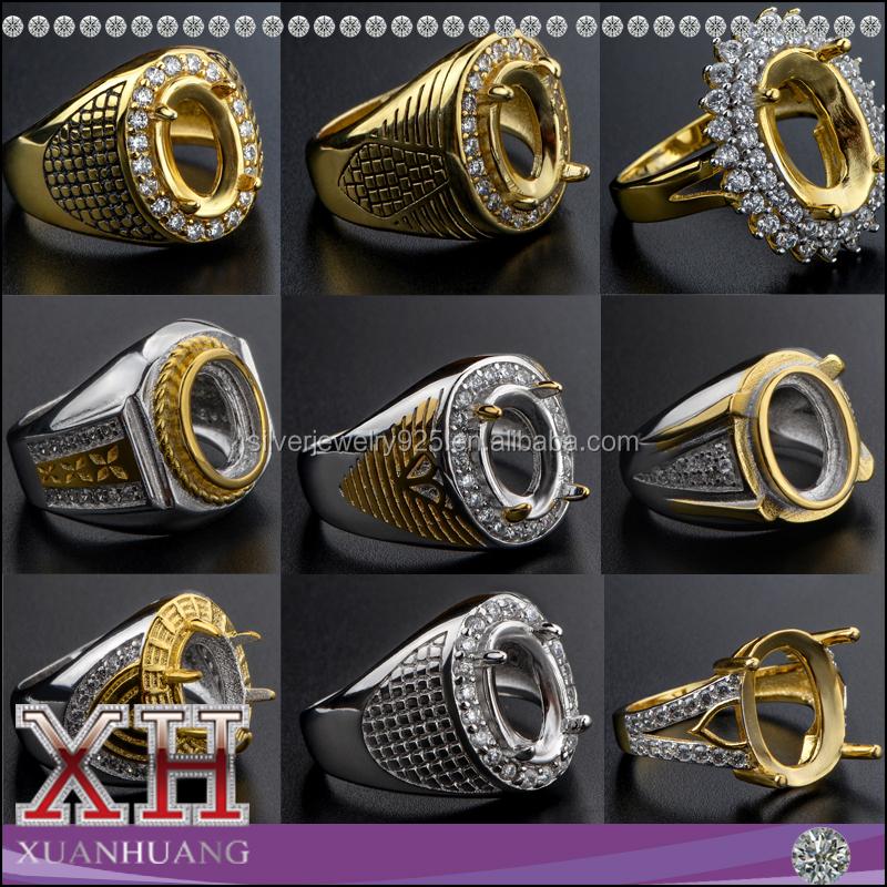 China Alibaba Wholesale Latest Dubai Gold Ring Design for Men ...
