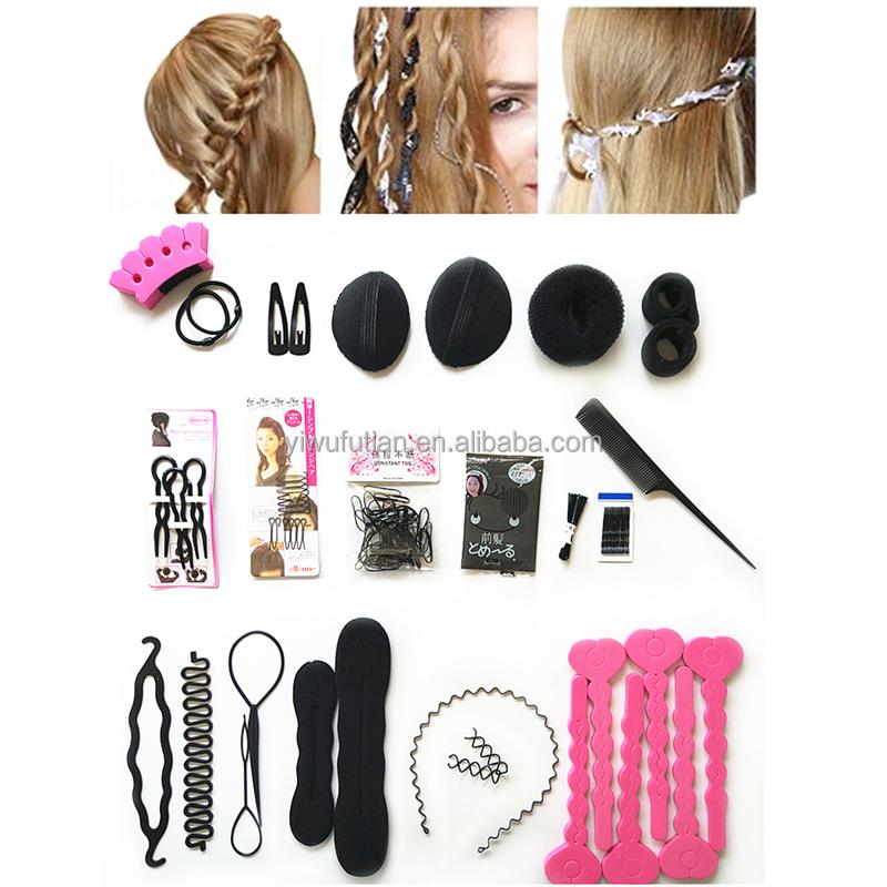Bricolaje mujer accesorios para el cabello kit de horquillas para mujeres