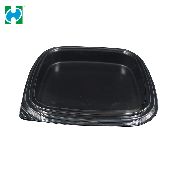 Custom Embossing Food Grade Material Paper OEM Service Disposable Lunch Box Container