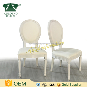 Hotel furniture white oak wood wedding chairs for sale