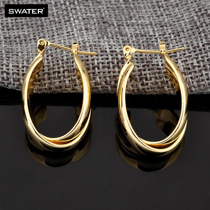 Ladies Hoop Earrings Designs Pictures,Simple Gold Women Jewelry ...