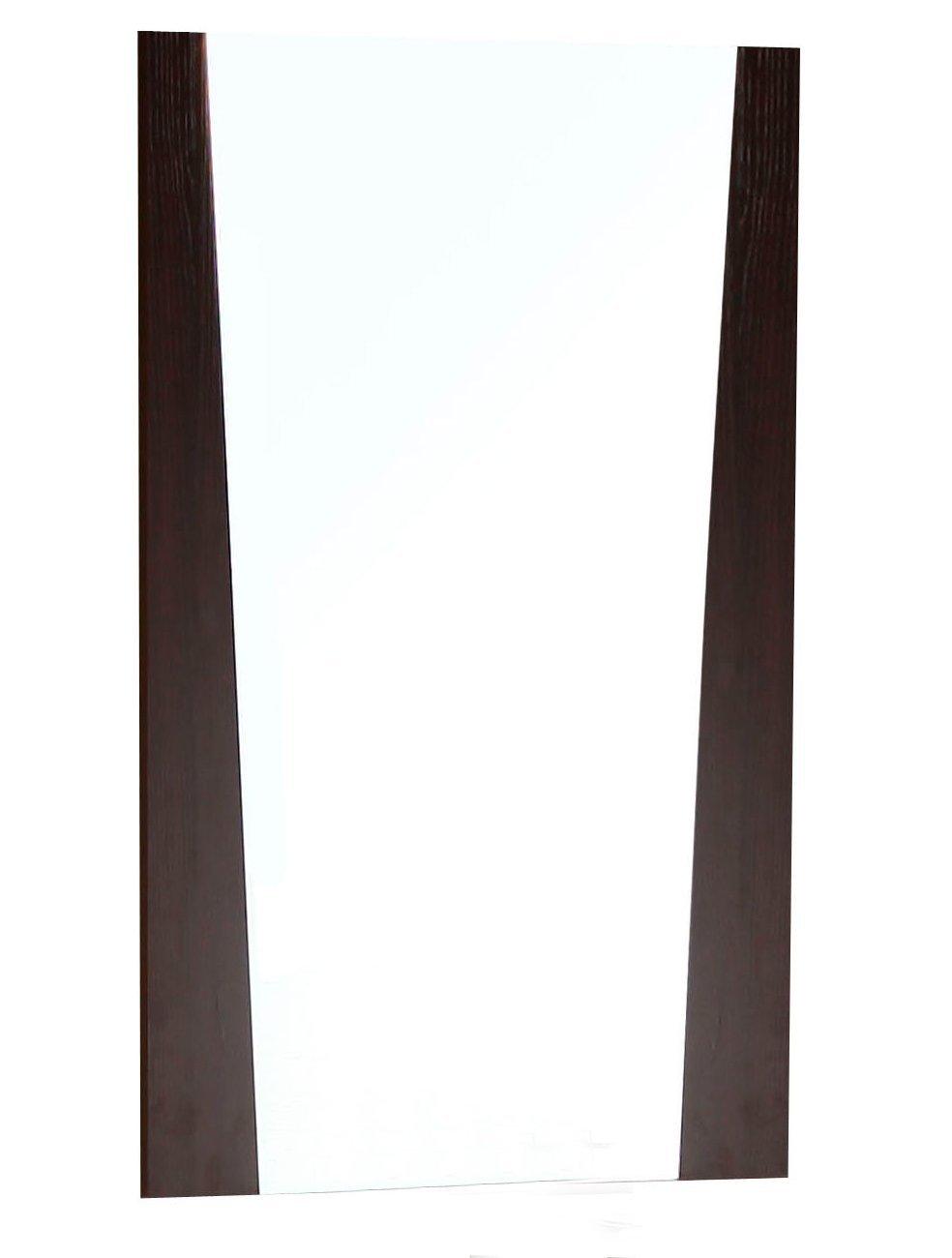 American Imaginations AI-1184 28-in. W x 34-in. H Wood Frame Mirror In Wenge Finish