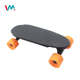 New mini wireless 24V 250W kids electric skateboard with 4 wheels