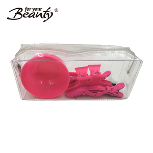 Professional salon dye hair clips,bowl,brush,combs styling tools