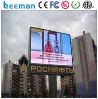 powerful led solar security light digital signage display monitors outdoor full color advertisement led display