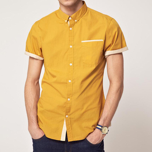 custom solid color slim fit dress man shirt 100% cotton 40*40 133*72