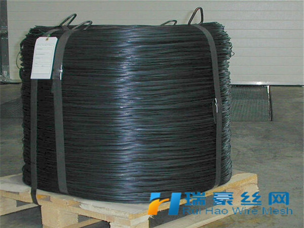 25kg/coil Bwg16 Black Annealed Wire/ Construction Iron Rod/ Black ...