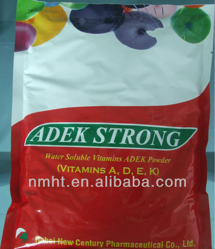 veterinary medicine water soluble vitamins ADEK powder