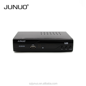 JUNUO Factory usb dvb t2 tuner ali 3821 set top box digital decoder for kenya