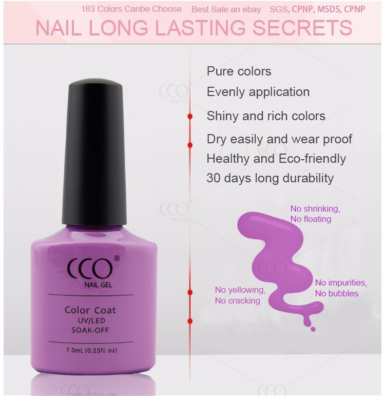 Cco Nail Polish Kit With Lamp Nails Polishes Supplier Set Soak Off ...