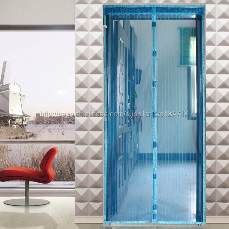 puerta magntica con pantalla de tela metlica manos libres cortina con puertas anti mosquito