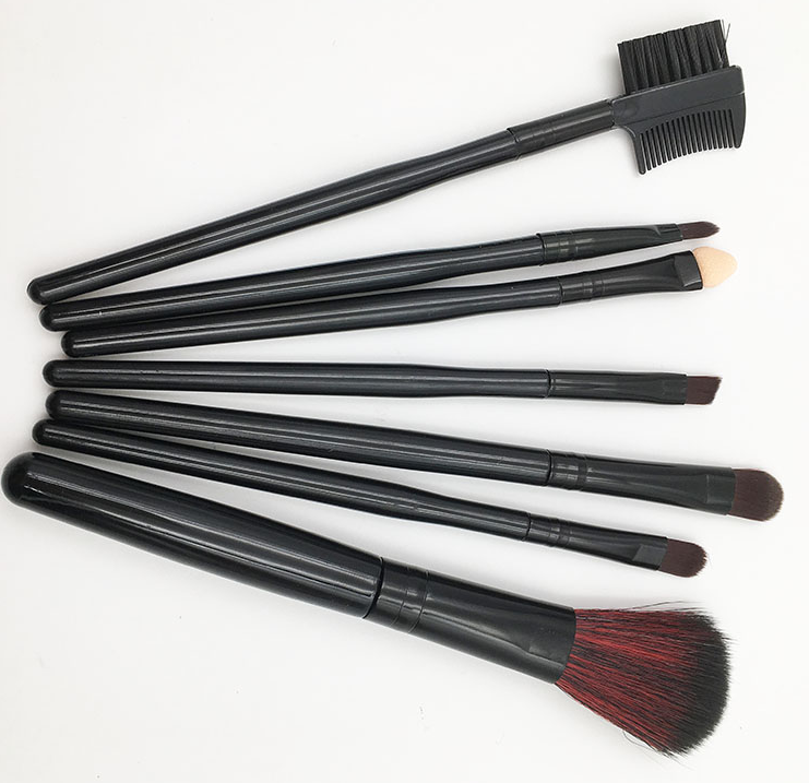 2017 Wholesale Professional brushes for makeup synthetic hair 7pcs makeup brushes free samples