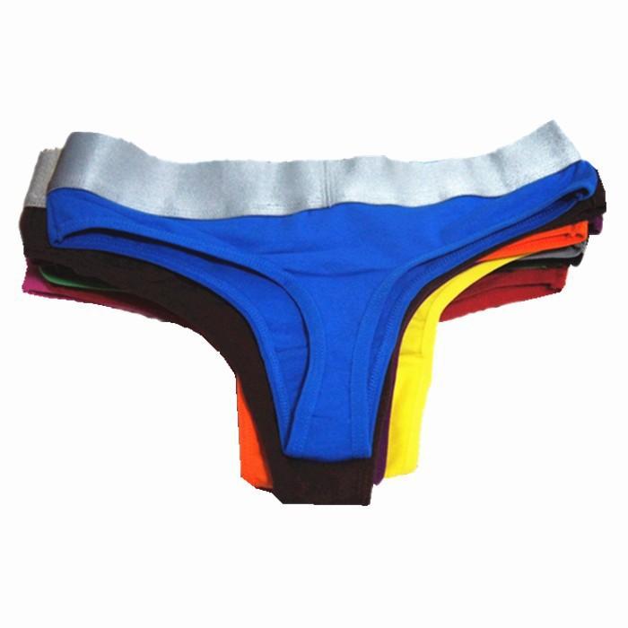 f363c472c80 Get Quotations · 10pcs lot Wholesale Sale Womens Sexy Lingerie Thong G  String Cotton Shorts Women Briefs Underwear