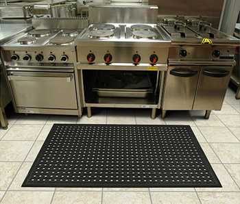 Kitchen Dining Room Rubber Floor Mat
