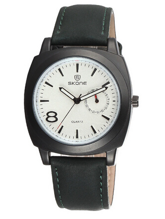 SKONE 9385 Japan Quartz Movement Vintage Style oem watch men low moq