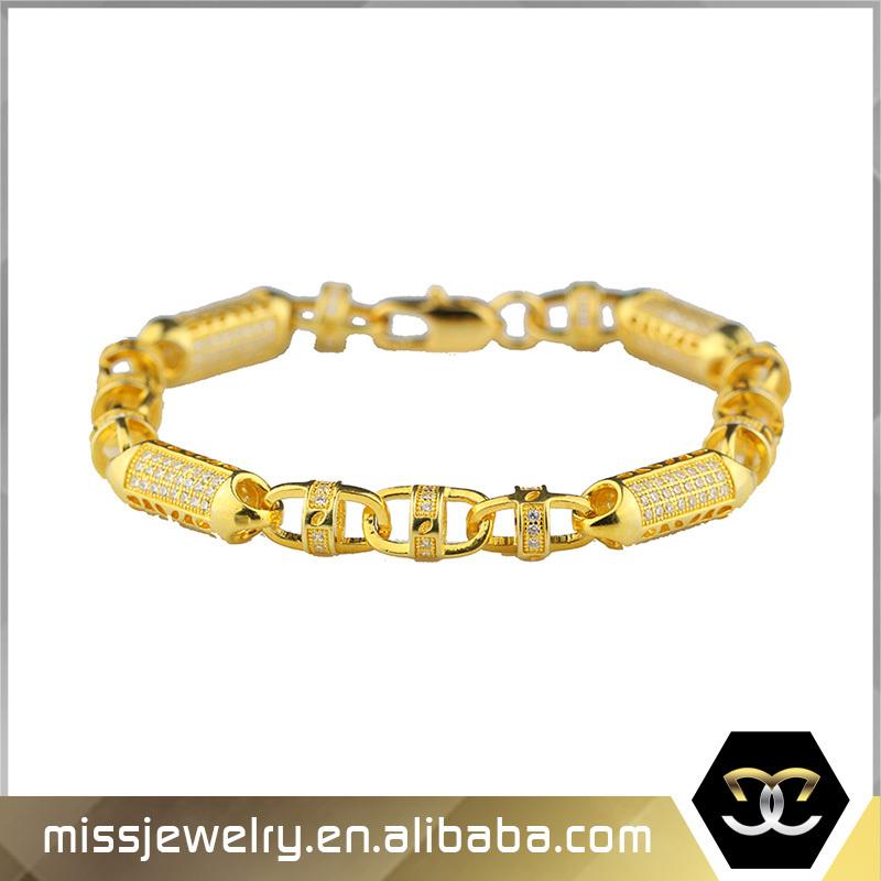 2016 Fashion New Cuban Link Tanishq Gold Bracelet Model Designs ...