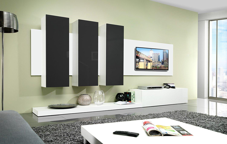 Buy Idea E3 Contemporary Wall Unit / Entertainment Center ...