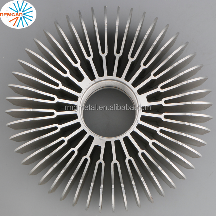 led extrusion aluminum waterproof heat sink