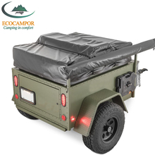 rv pop up storage camping jeep trailer with tub and living quarters