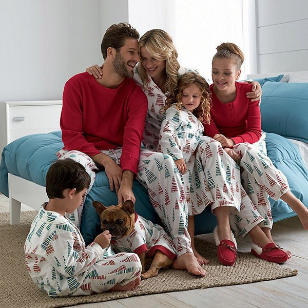 Family Personalized Christmas Onsies Fabric For Pajamas