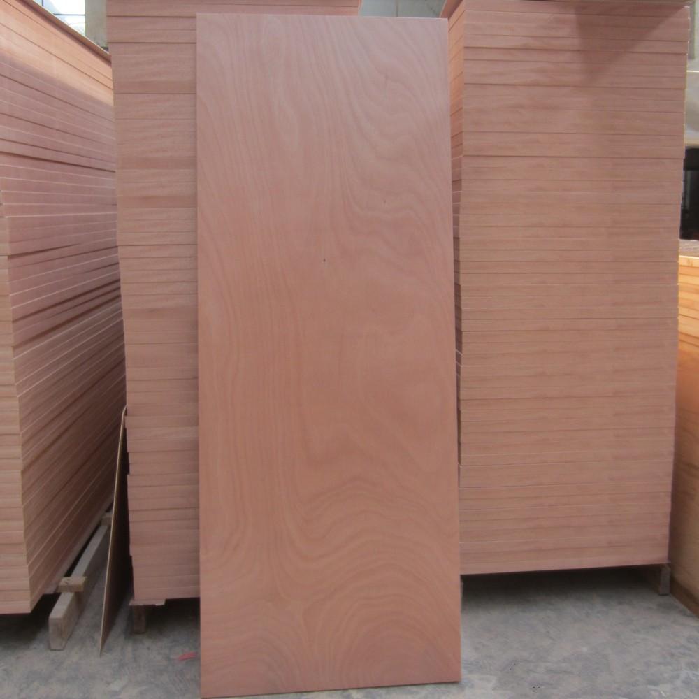 Trade assurance 2150x920mm door skin plywood for furniture for Mahogany door skin